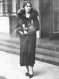 Barbara Hutton, Woolworth Heiress, in London, November 1932 Photo