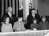 David Eisenhower Next to the Girl Her Would Marry 12 Years Later Photo