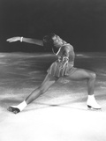 Dorothy Hamill, Star Skater, Performs a 'Ina Bauer' Move Photo