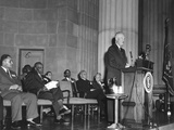 President Eisenhower Speaks at the Naacp Meeting Photo