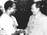 Marxist Kwame Nkrumah Meeting Mao Zedong During a 1962 Visit to Beijing Photo