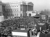 Television and Newsreel Cameras at the First Inauguration of President Eisenhower Photo