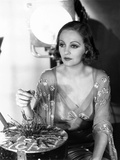 Tallulah Bankhead, on the Paramount Lot, Ca. 1932, Plsying with a Nail-Board Game Photo
