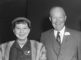 President Dwight and First Lady Mamie Eisenhower Photo