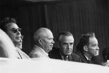 Nuclear Test Ban Treaty Talks Underway, July 21, 1963 Photo