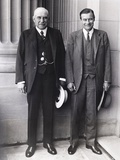 J.P. Morgan Jr. (Left) and Son, Junius Morgan Photo