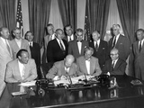 President Eisenhower Signs the Atomic Energy Act of 1954 Photo