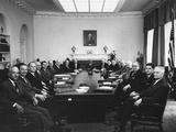 Eisenhower's Second Term Cabinet on May 1, 1957 Photo