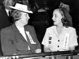 Bess and Margaret Truman at the 1940 Democratic Convention Photo