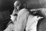 Emmett Till Lying on His Bed in His Chicago Home in 1955 Photo