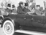 President Woodrow Wilson Enroute to President-Elect Warren Harding Inauguration'S Photo
