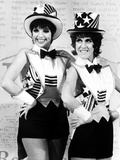 Liza Minnelli and Ruth Buzzi Perform a Tap Dance on the Rowan and Martin's Laugh-In Photo