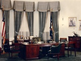 Oval Office and President's During the Eisenhower Administration Photo