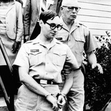 Anti-War Army Capt. Howard Brett Levy Handcuffed after Receiving a 3 Year Sentence Photo
