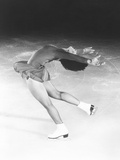 Dorothy Hamill, Star Skater, Performs a Layback Spin Photo