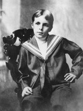 Bill Tilden, Legendary Tennis Champion as an Eight Year Old Boy in a Middy Shirt Photo