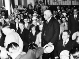 J.P. Morgan Jr. Arriving to Testify to the Senate Banking and Currency Committee Photo