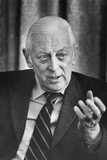 Alistair Cooke, British Journalist, Television Personality, and Broadcaster Photo