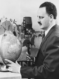 Malcolm Laprade, Host of Cook'S Radio Travelogue, Broadcast from 1926 Through 1939 Photo