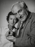 Anthropologists Mary Douglas Leakey and Her Husband Louis Leakey Photo
