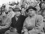 Vice President Richard Nixon with Football Coach Vince Lombardi Photo