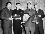 Four Boxing Champions at the Annual Dinner of the Boxing Writer's Assn Photo