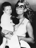 Sophia Loren Holds Her Son, Carlo Ponti, Jr Photo