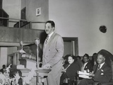 Thurgood Marshall, Speaking at Naacp Conference in Dallas March 24-26, 1950 Photo