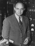 Enrico Fermi, Italian Born Physicist, Received the 1938 Nobel Prize in Physics Photo