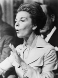Head of State, Isabel Peron Speaks at a Trade Union Meeting, April 4, 1975 Photo