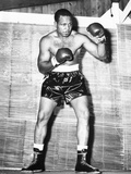 Archie Moore at Kenwood Camp, While Training for His Match with Rocky Marciano Photo