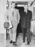 President Eisenhower with Republican Senate Majority Leader William F. Knowland Photo