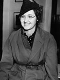 Mrs. Francis Flegenheimer, Widow of the Slain Gangster Dutch Schultz, Feb. 3, 1938 Photo