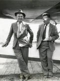 Will Rogers and Wiley Post before their Ill-Fated Flying Exploration of Alaska Photo