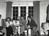 Dorothy Mckibbin, Physicists Robert Oppenheimer, and Victor Weisskoph at Los Alamos Photo
