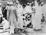 Gandhi Followers Continued their Raids on Salt Works after Gandhi's Imprisonment Photo