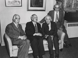 Portrait of Four Famous Nuclear Physicists Photo