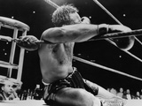 Archie Moore Knocked Out by Heavyweight Champion Rocky Marciano Photo