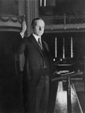 Calvin Coolidge Accepting the Presidential Nomination of the Republican Party Photo