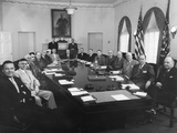 President Eisenhower's Cabinet, May 8, 1953 Photo