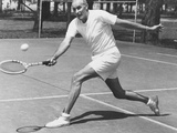Bill Tilden, Former Tennis Champion, at 58 Years at Lakewood Park, Ohio Photo