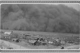 Dust Storm in Rolla, Kansas Photo