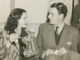 Vivien Leigh and Laurence Olivier in Atlanta, Georgia Photo
