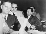 Al Capone, at the Time of His Indictment for Tax Evasion, June 5, 1931 Photo