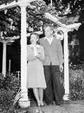 Helen Hayes and Her Husband Charles Mcarthur, Ca. Sept. 1940 Photo