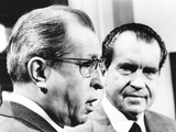 President Richard Nixon with His Rejected Nominee for Supreme Court Photo