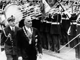 French President Georges Pompidou Assumes Presidency of France on June 20, 1969 Photo