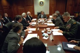 President George W. Bush with National Security Council, Sept 20, 2001 Photo