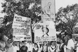 Latvian Society of Iowa Protests Soviet Premier Khrushchev's Visit to Iowa Photo