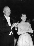 President Eisenhower and First Lady Mamie at an Inaugural Ball Photo